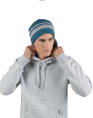 FLEECE LINED KNITTED BEANIE 1.
